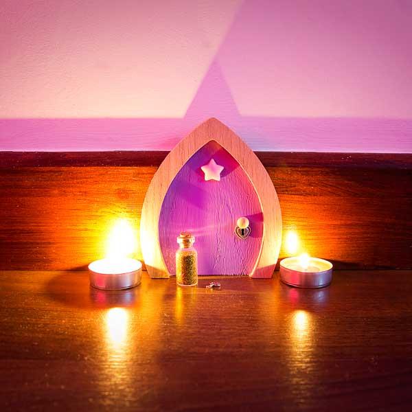 Purple fairy door star for Purple fairy door