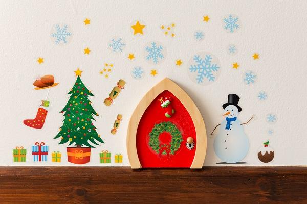 & Red Elf Door