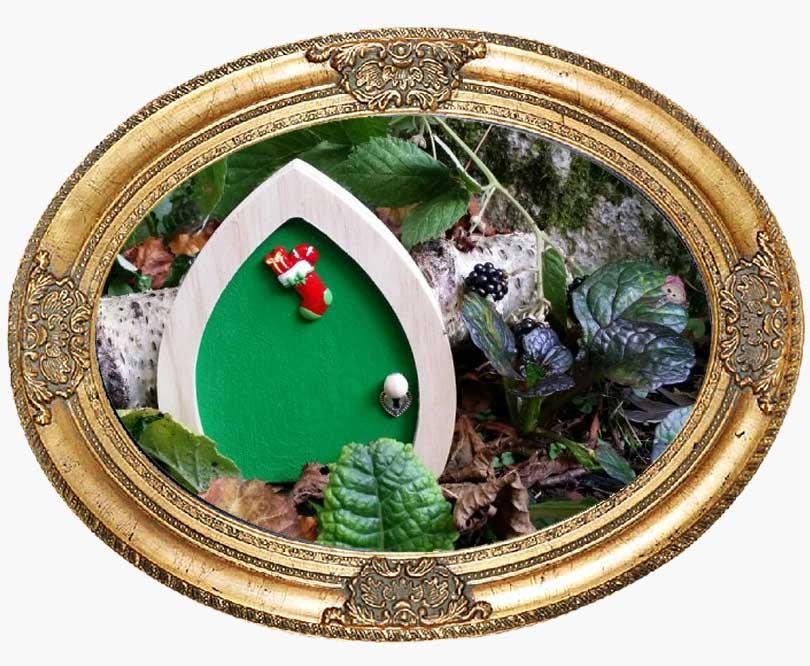 green-elf-door