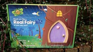 Purple Sparkle Fairy Door - Star Design
